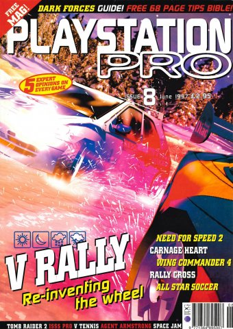 Playstation Pro Issue 08 (June 1997)