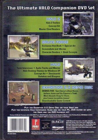 Halo: The Ultimate Companion DVD Set (DVD) (Rear)