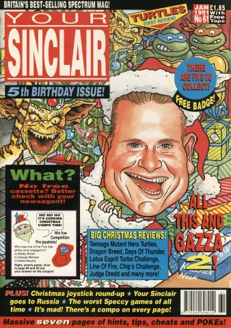Your Sinclair Issue 61 (January 1991)