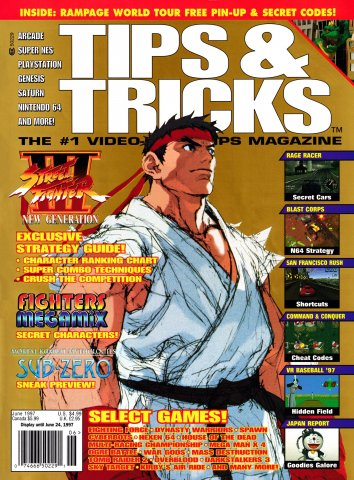 Tips & Tricks Issue 028 June 1997