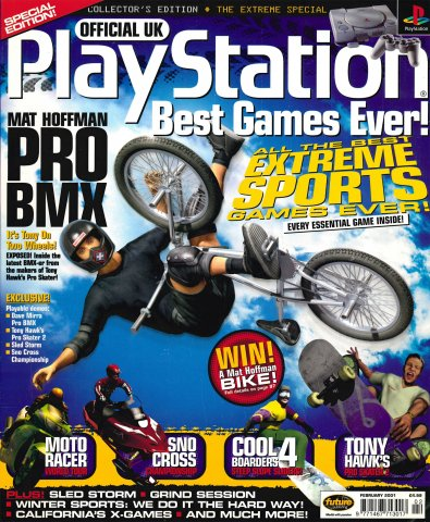 Official Playstation Magazine UK The Extreme Special (February 2001)