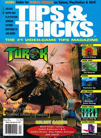 Tips & Tricks Issue 026 April 1997