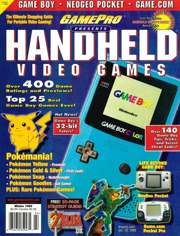 GamePro presents Handheld Video Games (Winter 1999)