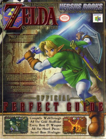 Legend of Zelda: Ocarina of Time Official Perfect Guide
