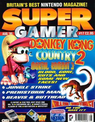Super Gamer Issue 17 (August 1995)