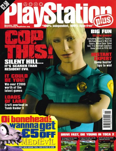 PlayStation Plus Issue 038 (November 1998)