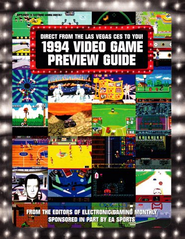 EGM CES 1994 Video Game Preview Guide
