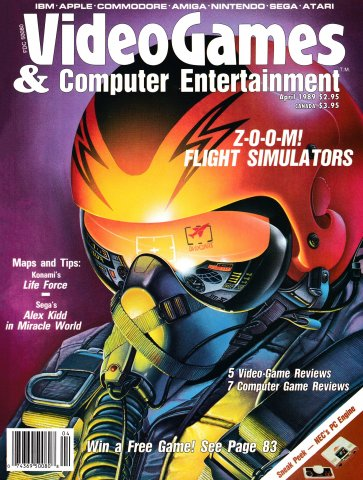 Video Games & Computer Entertainment Issue 03 April 1989