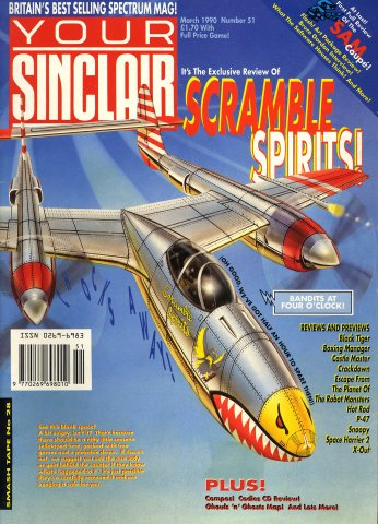 Your Sinclair Issue 51 (March 1990)