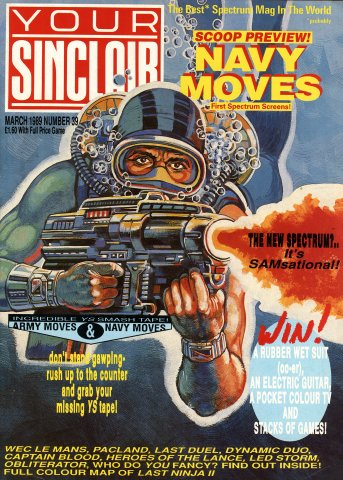 Your Sinclair Issue 39 (March 1989)