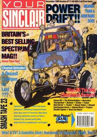 Your Sinclair Issue 47 (November 1989)