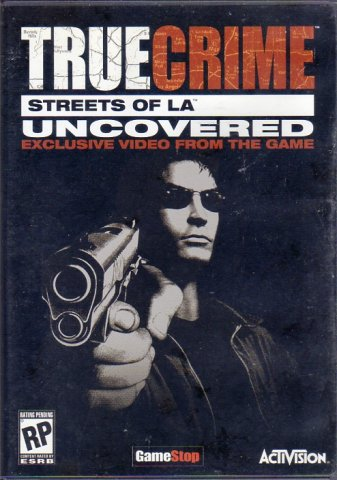 True Crime: Streets of LA Uncovered (DVD) (Front)