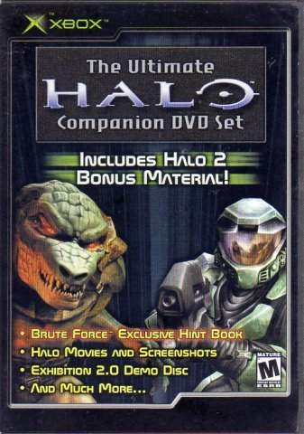 Halo: The Ultimate Companion DVD Set (DVD) (Front)