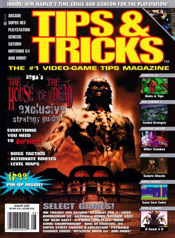 Tips & Tricks Issue 030 August 1997