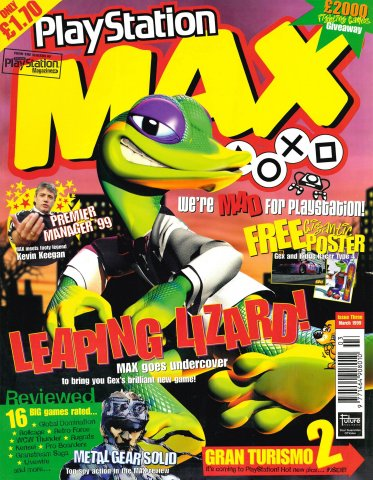 Playstation Max Issue 03 (March 1999)