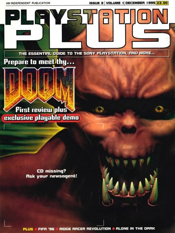 PlayStation Plus Issue 003 (December 1995)