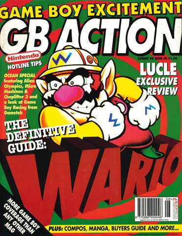 GB Action Issue 28 (August 1994)