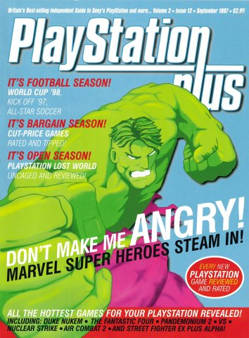 PlayStation Plus Issue 024 (September 1997)