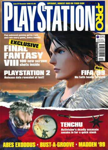 PlayStation Pro Issue 27 (December 1998)