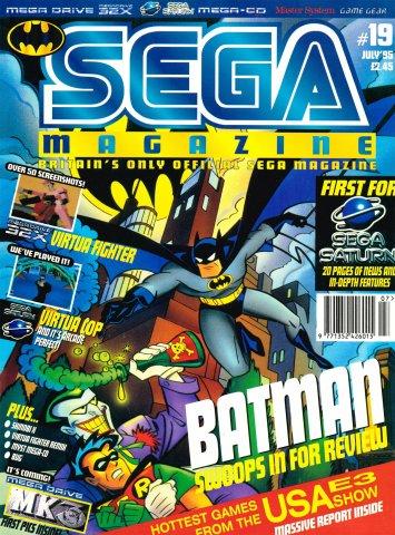 Sega Magazine 19 (July 1995)