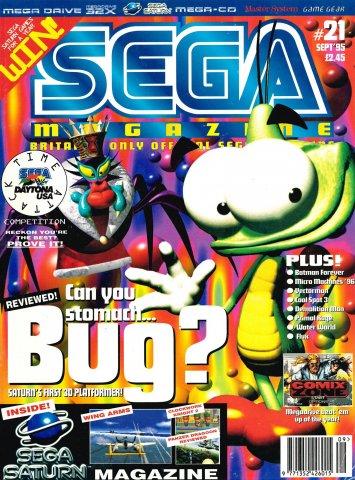 Sega Magazine 21 (September 1995)
