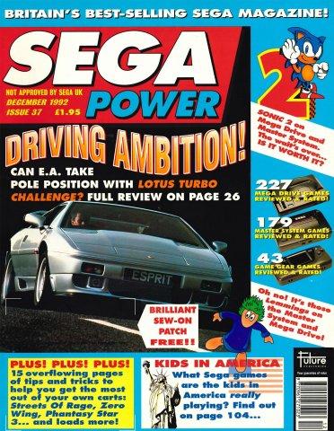 Sega Power Issue 37 (December 1992)