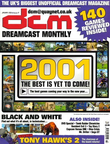 Dreamcast Monthly Issue 17 (January 2001)
