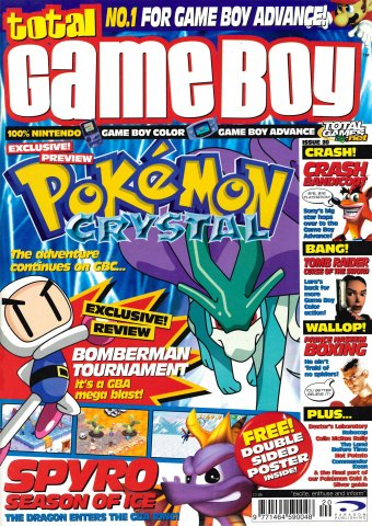 Total Game Boy Issue 20 (September 2001)