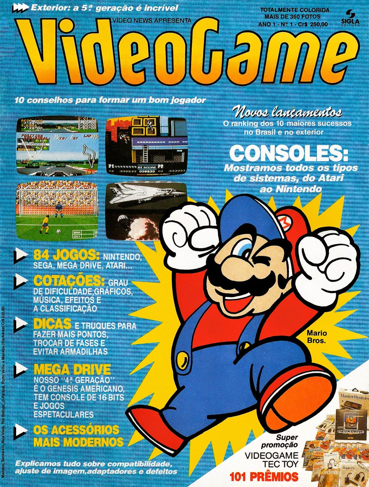 VideoGame Issue 01 (March 1991)