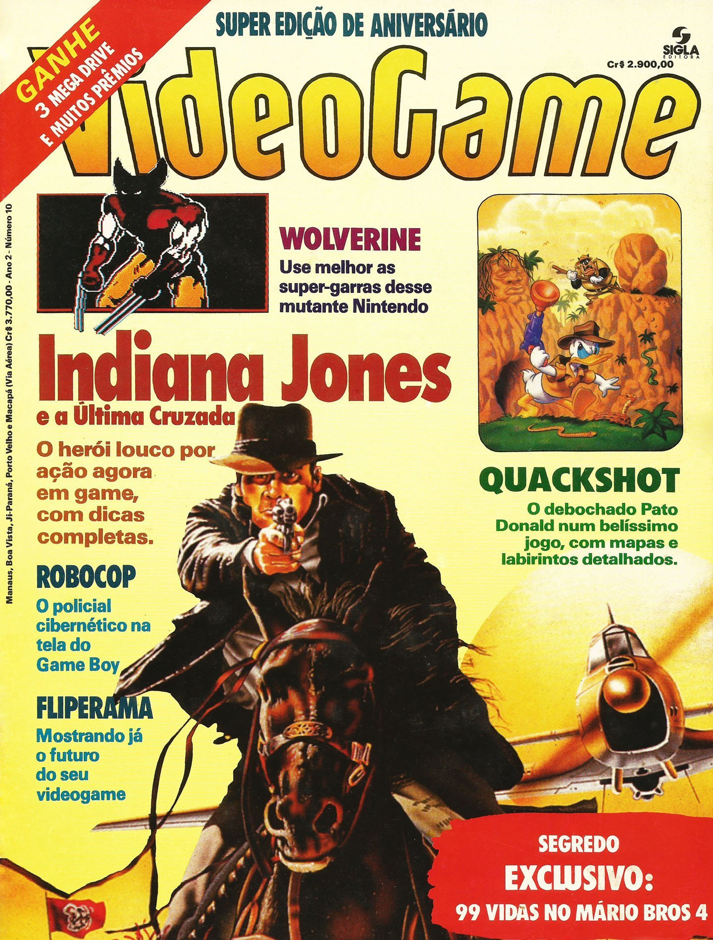 VideoGame Issue 10 (January 1992)
