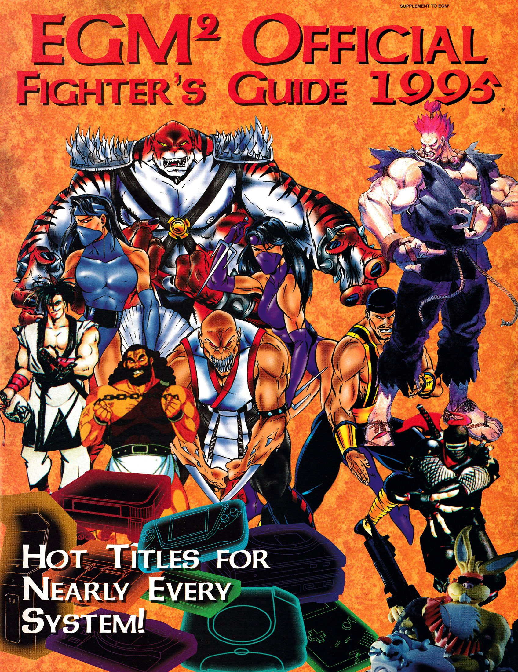 EGM2 Official Fighter's Guide 1995