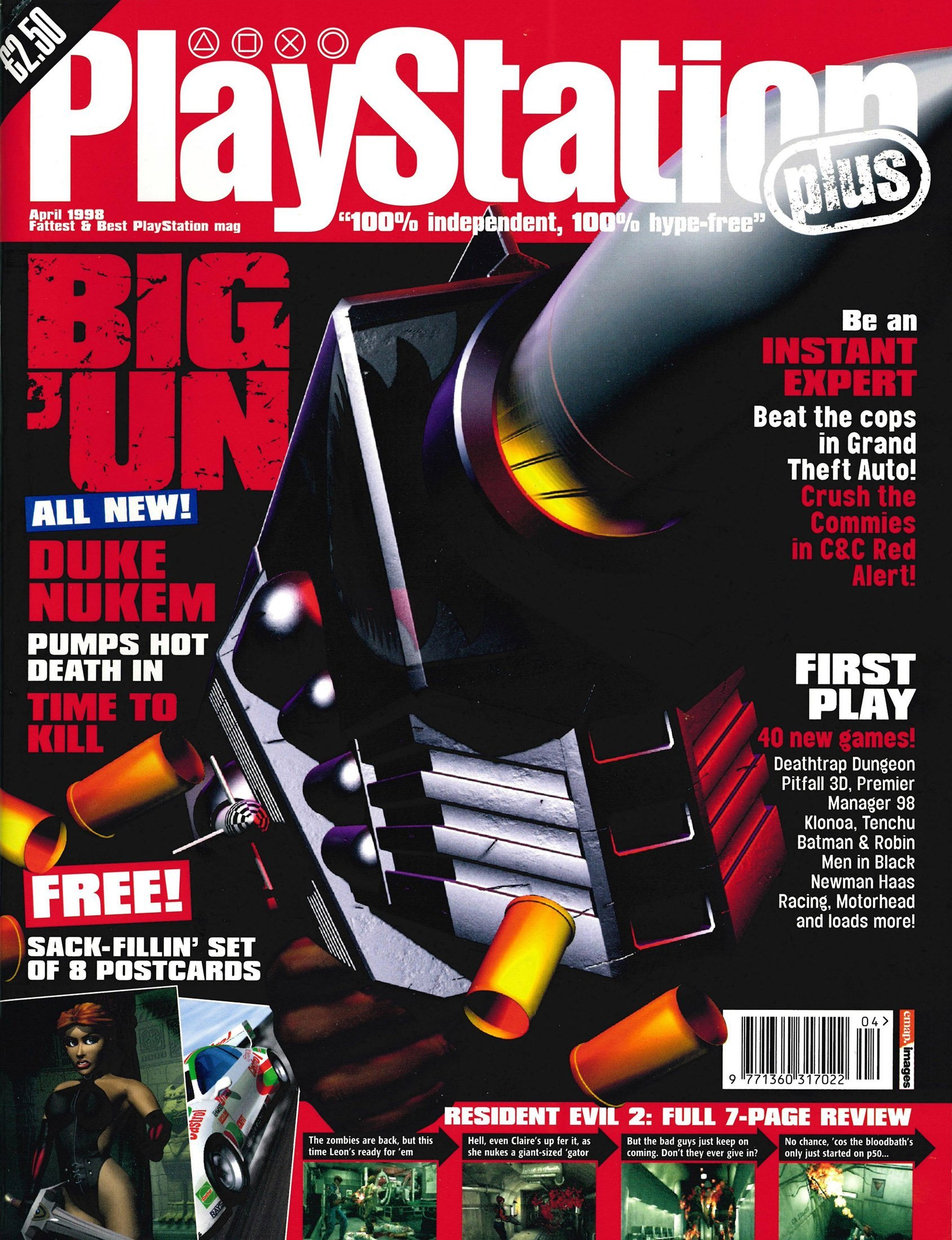 PlayStation Plus Issue 031 (April 1998)