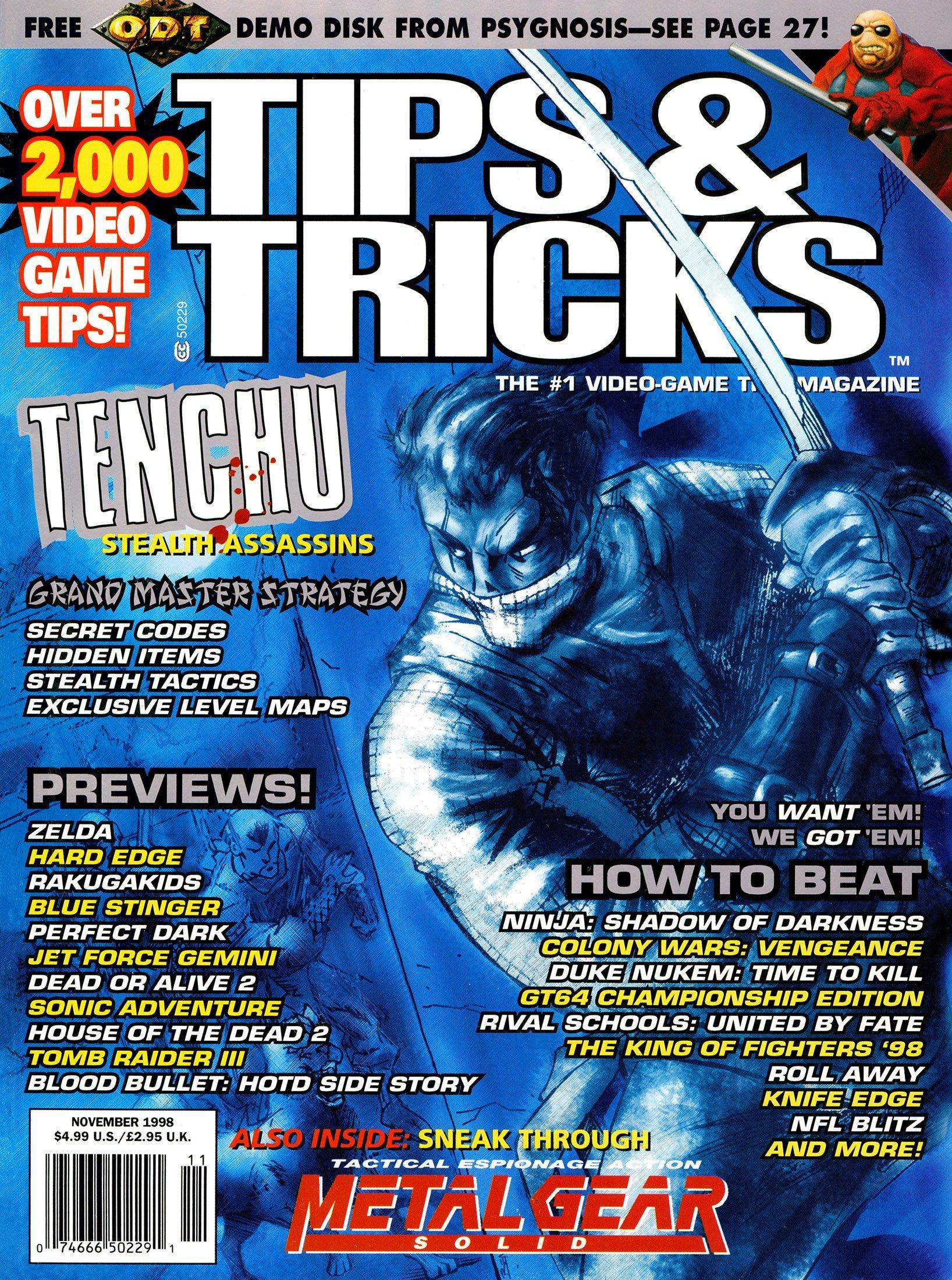 Tips & Tricks Issue 045 November 1998