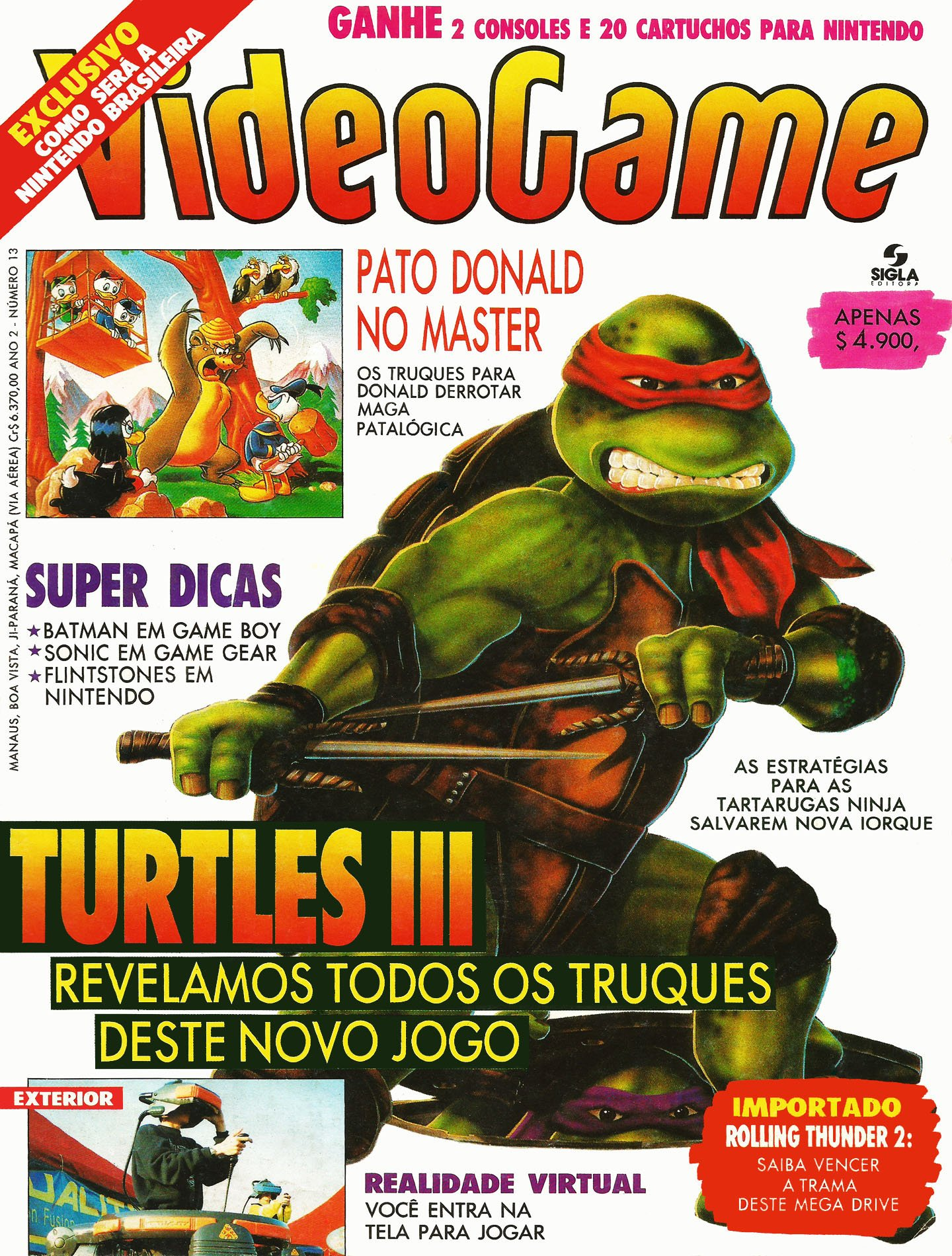 VideoGame Issue 13 (April 1992)