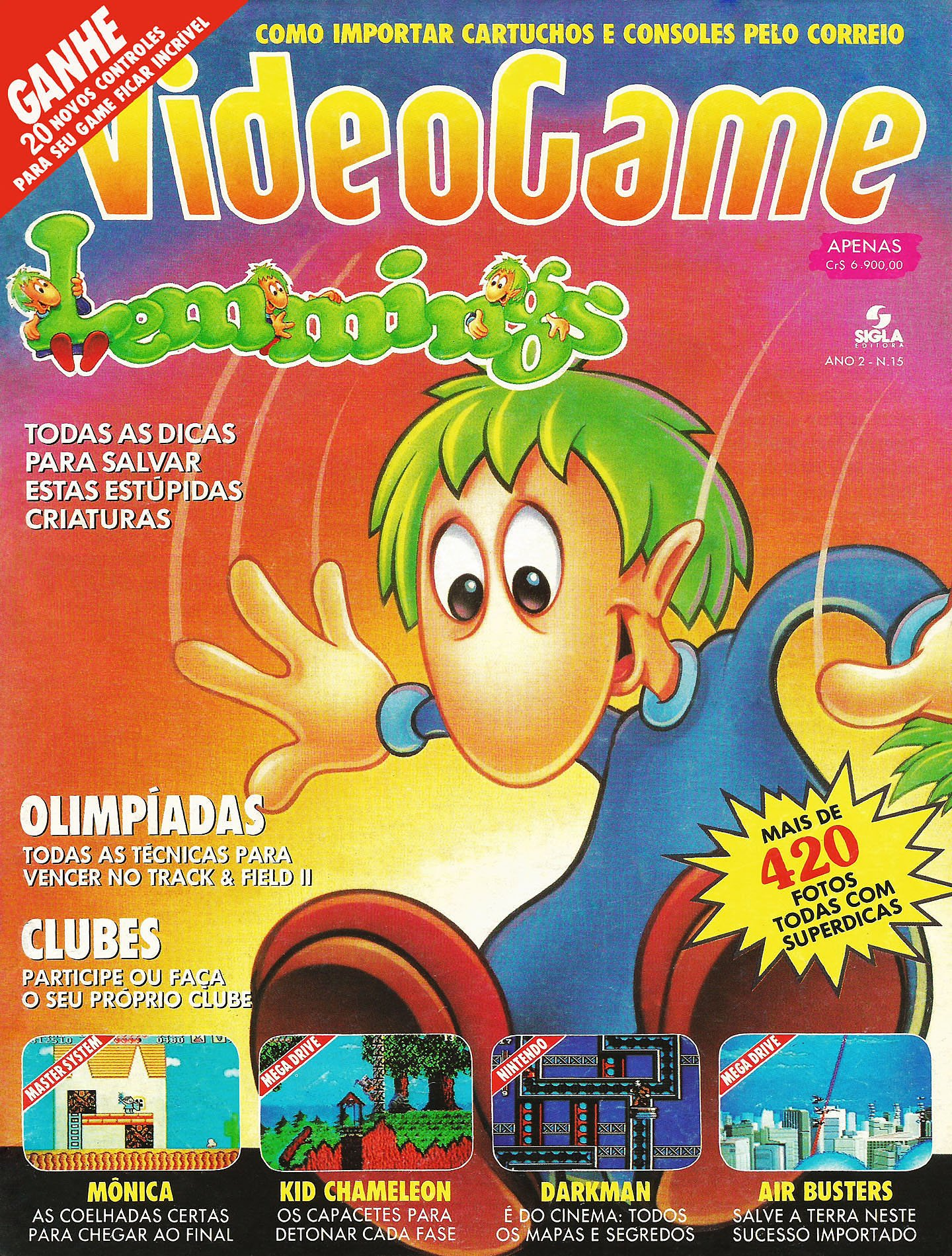 VideoGame Issue 15 (June 1992)