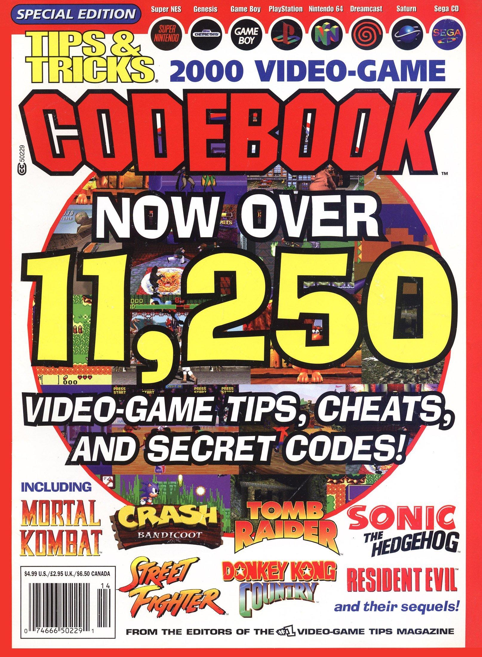 Tips & Tricks Video Game Codebook (2000)