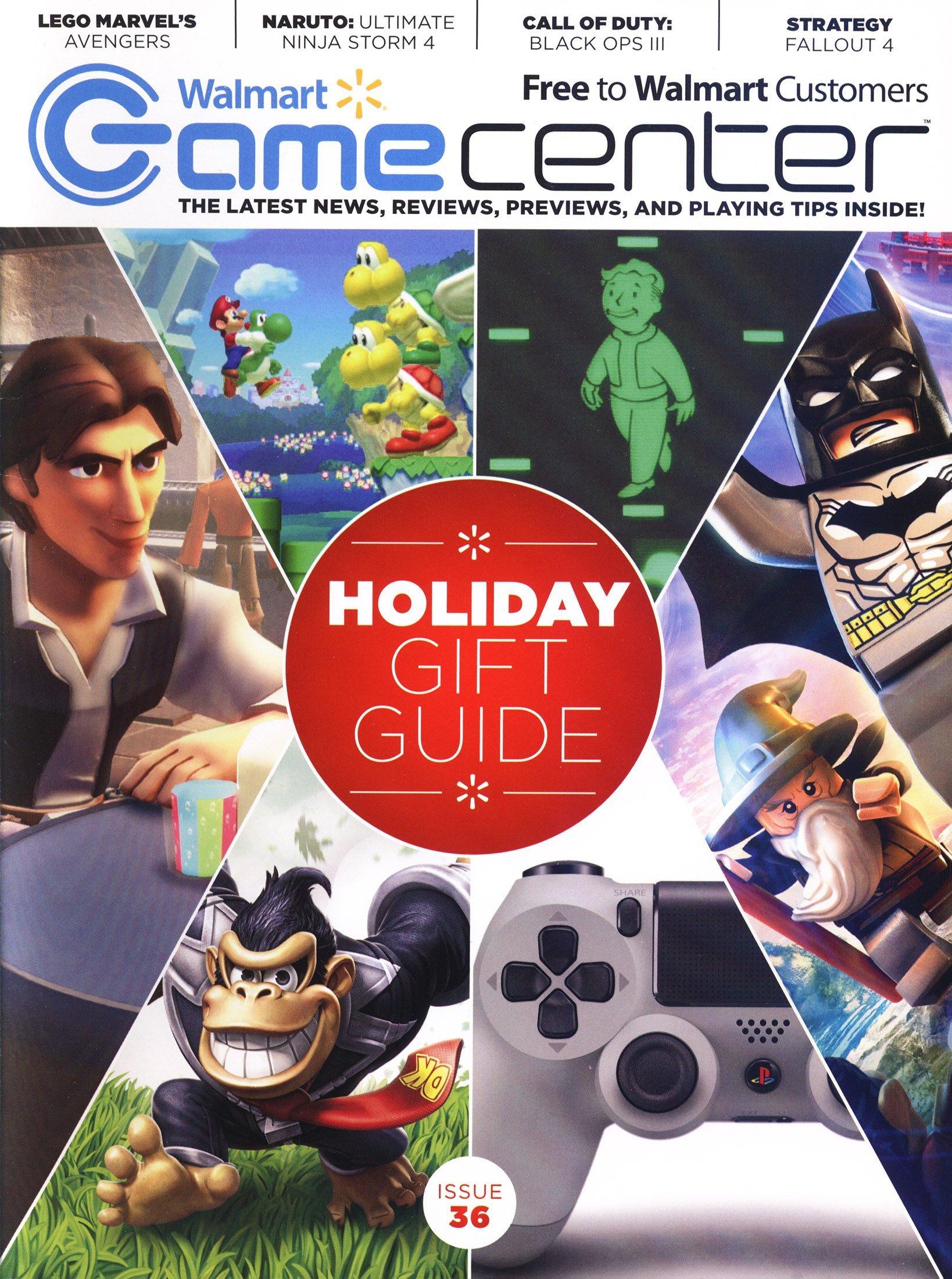Walmart GameCenter Issue 036