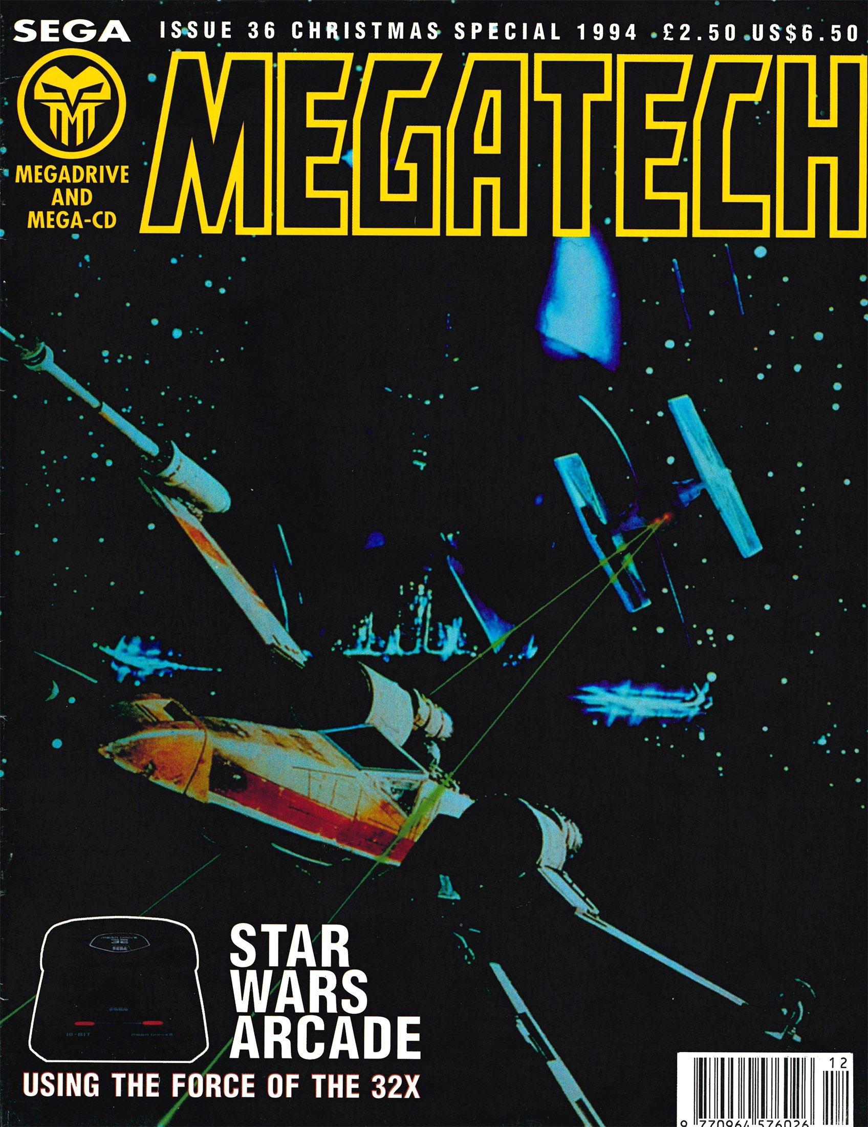 MegaTech 36 (Xmas 1994)