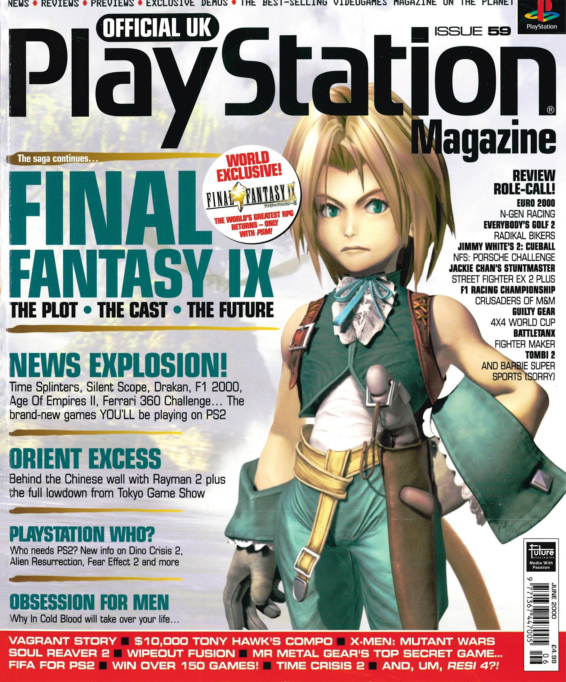 Official UK PlayStation Magazine Issue 059 (June 2000)