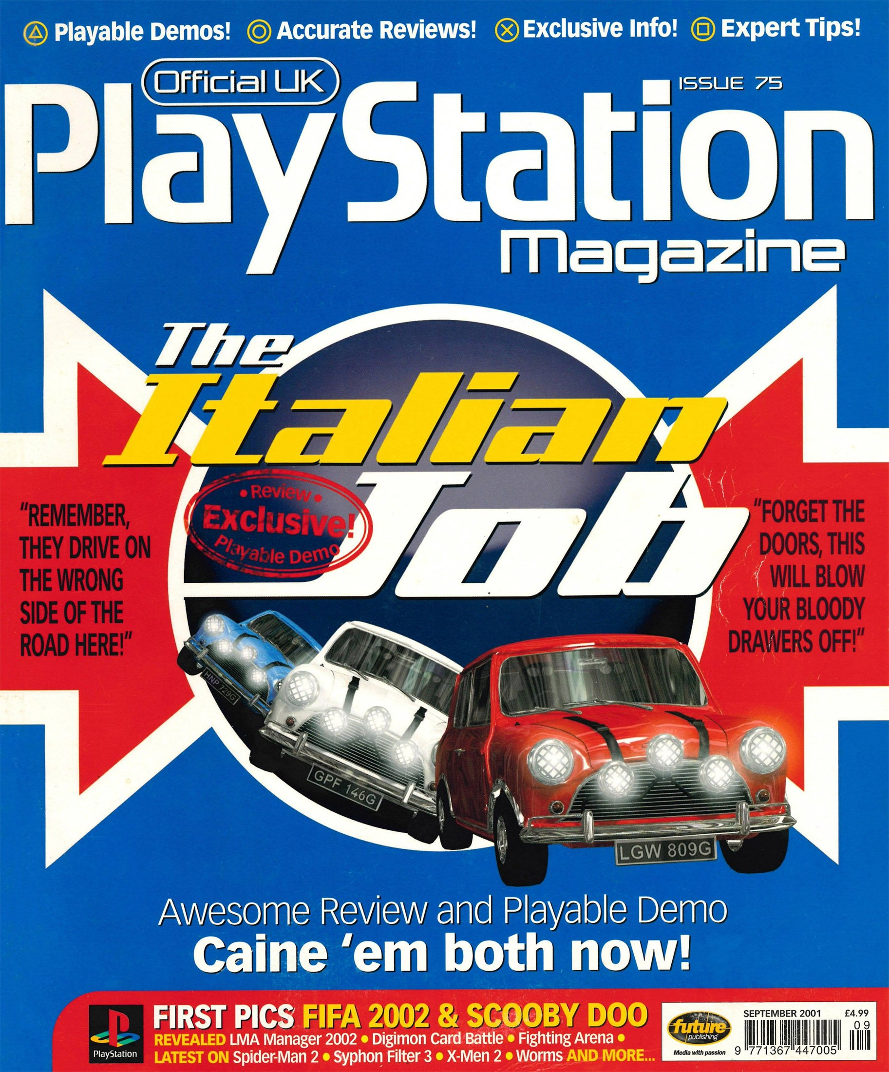Official UK PlayStation Magazine Issue 075 (September 2001)