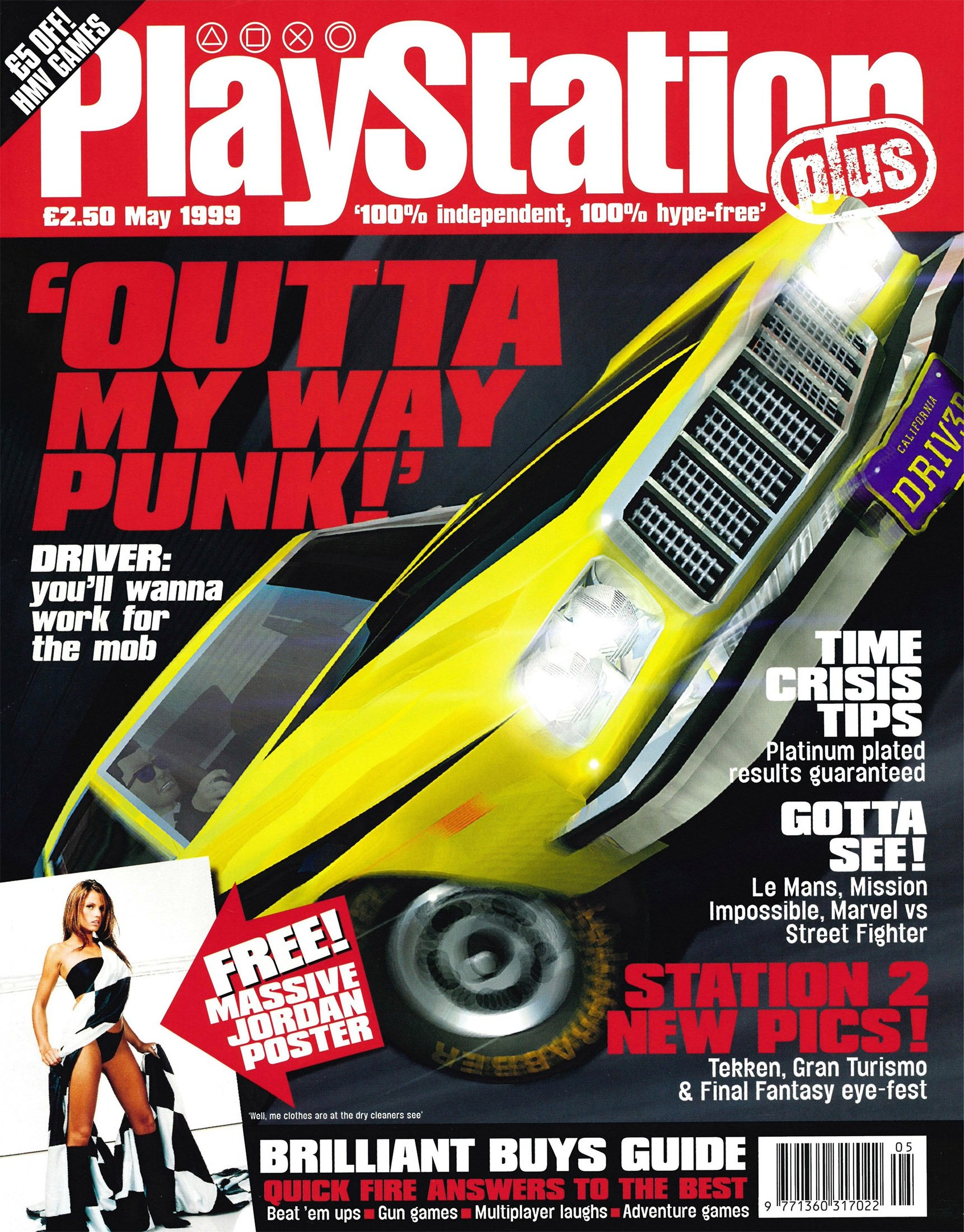 PlayStation Plus Issue 044 (May 1999)