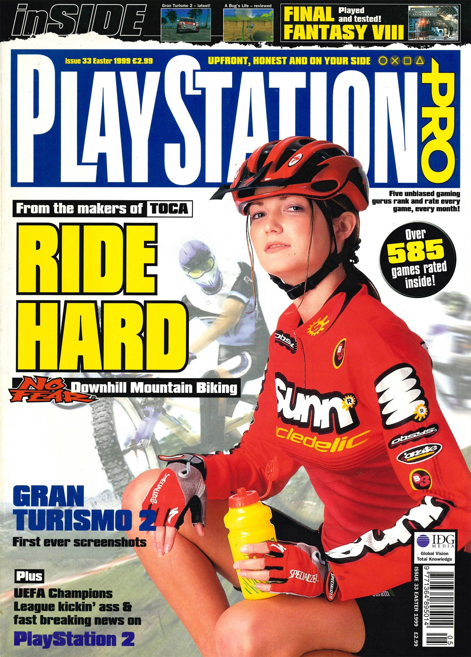 PlayStation Pro Issue 33 (Easter 1999)