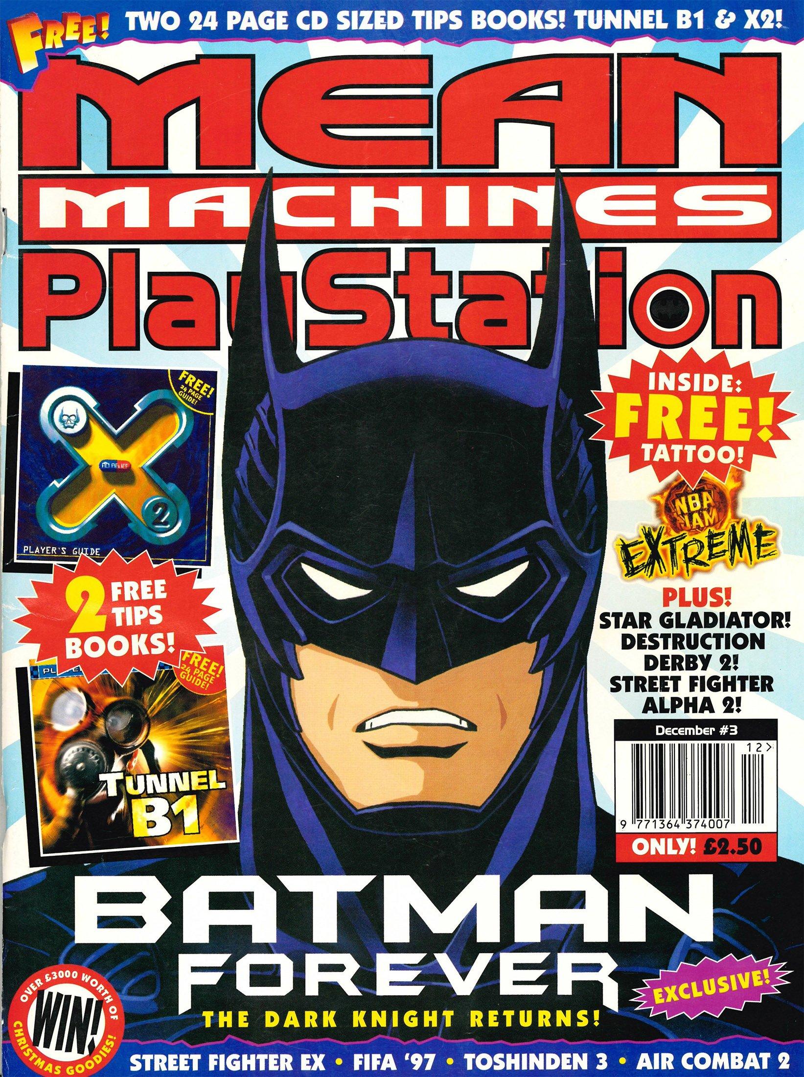 Mean Machines Playstation 03 (December 1996)