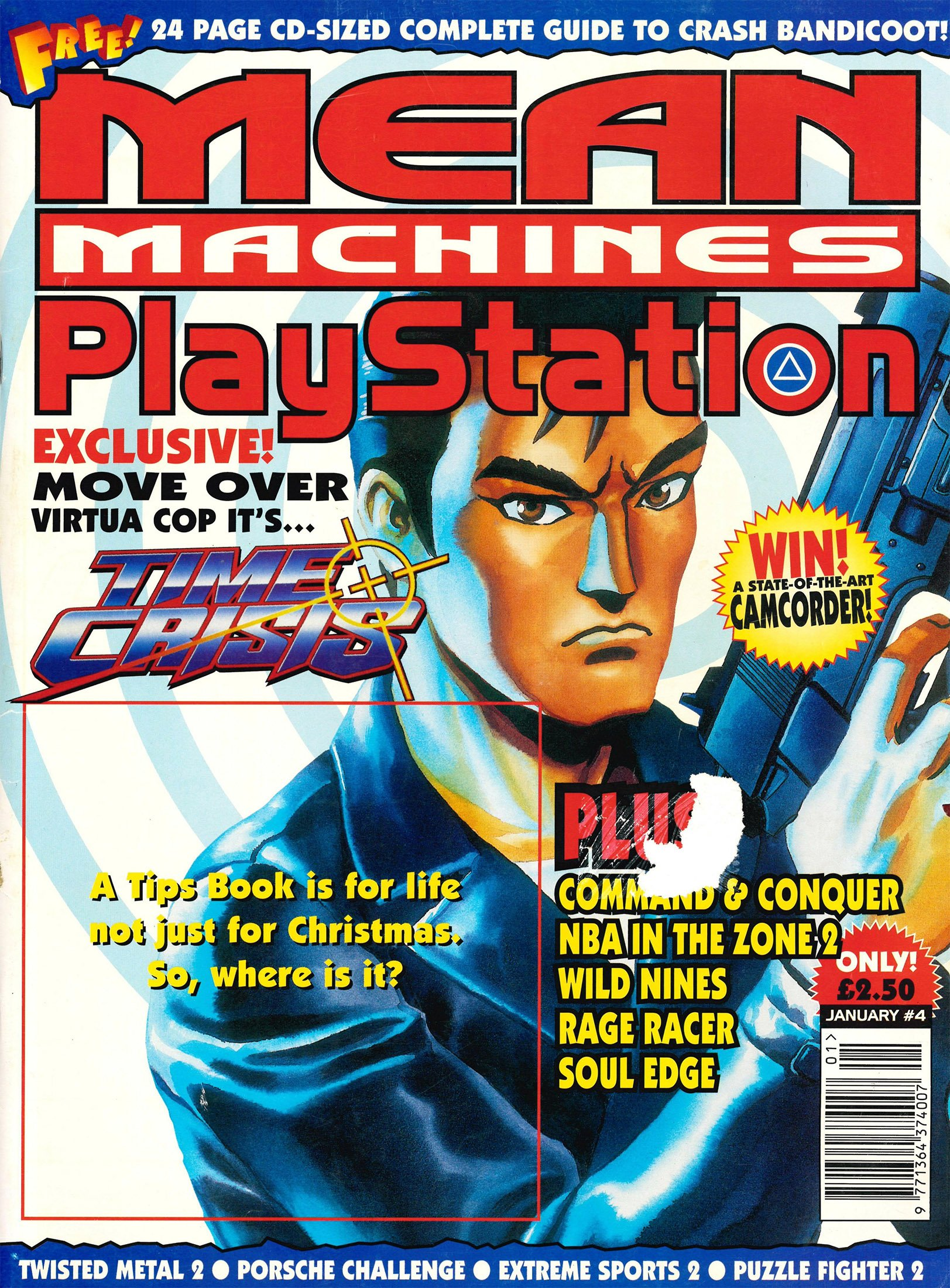 Mean Machines Playstation 04 (January 1997)