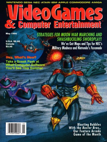 Video Games & Computer Entertainment Issue 16 May 1990
