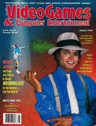Video Games & Computer Entertainment Issue 19 August 1990