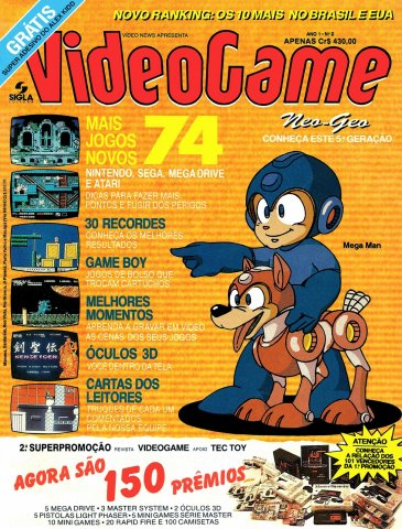VideoGame Issue 02 (April 1991)