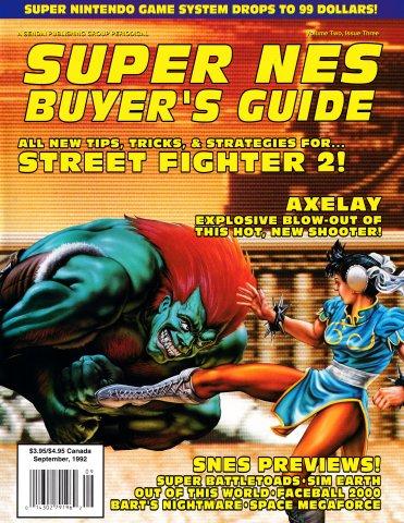 Super NES Buyer's Guide Issue 04 (September 1992)