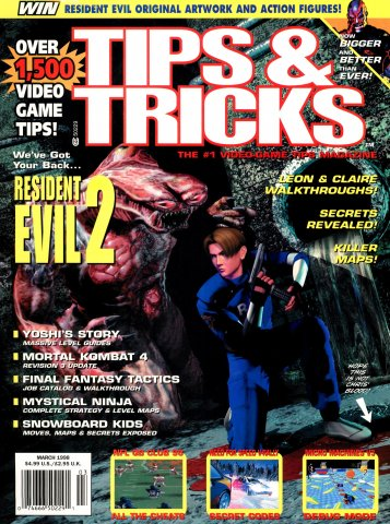 Tips & Tricks Issue 037 March 1998