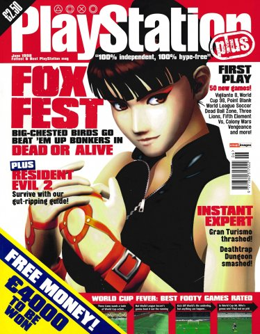 PlayStation Plus Issue 033 (June 1998)